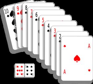 Kings Cup benötigt ein Kartenspiel mit 52 Blatt